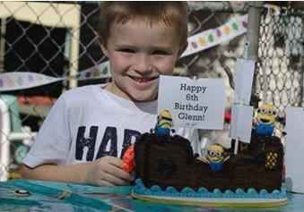 グレン6歳の誕生日